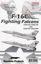 Ms481227/decals-f-16c - 125th fs/138th FW & 124th fs/132 FW - 1/48