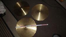 3 x Schlagzeugbecken Hihat und Crash