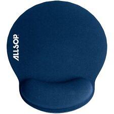 ALLSOP 30206 Comfortfoam Memory Foam Round Mouse Wrist Rest Pad (Blue)