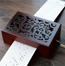 DIY Hand-cranked Music Box  With Hole Puncher  《I'm Yours》Jason Mras