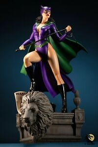 Tweeterhead Super Powers Collection Catwoman Statue Excl. 126/250 - Displayed
