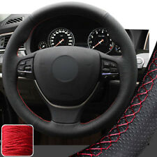 Steering Wheel Cover Stitch on Wrap for BMW 5 6 Series 550i 535i 5GT 11-16 14 15