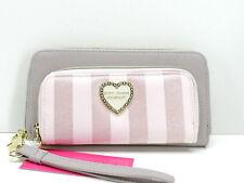 Betsey Johnson Blush Multi Wristlet Wallet Clutch New! NWT