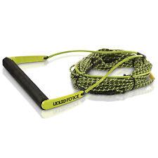 Liquid Force 2019 Team w/ H-Braid Line (Green) 70' Wakeboard Rope & Handle Combo