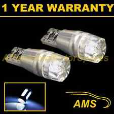 2X W5W T10 501 CANBUS ERROR FREE WHITE LED NUMBER PLATE LIGHT BULBS HID NP101201