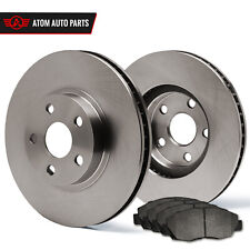 2009 2010 Pontiac Vibe 2.4L AWD/GT (OE Replacement) Rotors Metallic Pads R