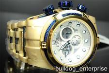 Men Invicta Reserve Bolt Zeus Gold Plated Jason Taylor JT Watch + Case LE New