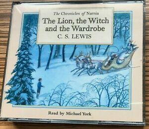 AUDIO BOOK C S Lewis THE LION THE WITCH AND THE WARDROBE on 4 x CDs Michael York