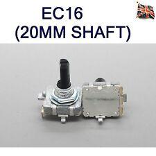 EC16 Codificador Rotatorio ya 20MM Eje Digital 24 pulso 360 grados Reino Unido Stock