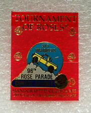 Tournament Of Roses Parade Pin Convoy Escort 4X4 Highriders 1985 96th Annual