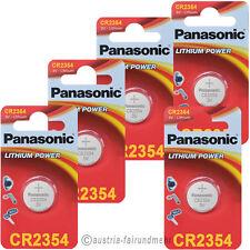 5x PANASONIC CR2354 Lithium Batterien für Polaruhr 3V