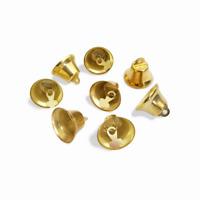 10 Cloche 13mm x 9mm grelots Metal Doré Clochette Jingle Bell ...