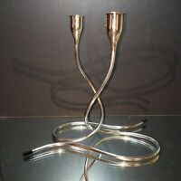 2 VINTAGE MARION ANDERSON NOYES 1957 TOWLE STERLING SILVER CANDLE HOLDERS