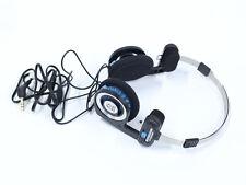 Koss Porta Pro Portapro Headband Headphones - Blue/Black Rubber Wire L Plug