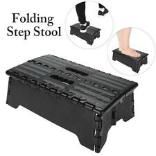 Portable Folding Step Up Stool Car Height Boost Elder Adult Kid Child Heavy Duty