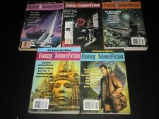 FANTASY & SCIENCE FICTION BOOKT LOT OF 5