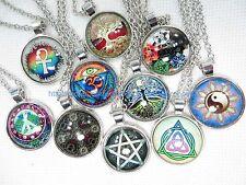 10 pieces wholesale necklace lot pendant tree of life celtic