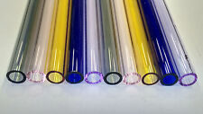 Glass Tubing COLOURED BOROSILICATE (PYREX) 10 PIECES 150MM LONG 10MM*1.5MM TUBE