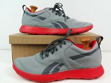 Men's Reebok Royal Simple Grey/Flame Red Ultra Light Running Shoes