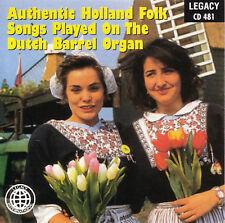 Various : Authentic Holland Folk Songs CD (1999)