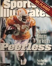 Peerless Price Tennessee Volunteers Autographed 11x14 Sports Illustrated Cover