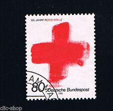 GERMANIA 1 FRANCOBOLLO CROCE ROSSA 1988 timbrato