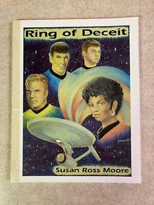 """Star Trek TOS Fanzine """"Ring of Deceit"""" GEN Novel by Susan Ross Moore 1992 Book"""