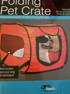 Dog Crate/Kennel Portable Soft Collapsible Folding Pet Travel Pop Up