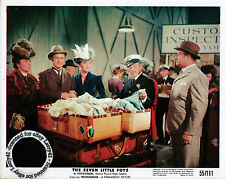 Lot of 4, Bob HOPE color stills THE SEVEN LITTLE FOYS (1955) Milly Vitale, Angel