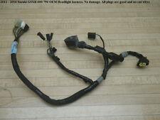 11 16 Suzuki GSXR 600 750 OEM FRONT WIRE HARNESS LOOM gauge healight speedometer