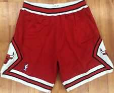 Authentic 1997 Chicago Bulls Mitchell & Ness NBA Men's Basketball Shorts Red