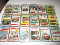 18 x Auto Quartette Quartett Spiele FXS + ASS 70er Jahre Sammlung