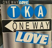 "TKA ONE WAY LOVE 12"" 1986 TOMMY BOY TB866 FREESTYLE"