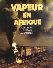 VAPEUR EN AFRIQUE (Chemin de Fer - Train - Locomotive)