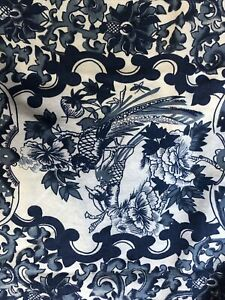 Lauren Ralph Lauren Tamarind Porcelain Blue Duvet Cover Full Queen 2 Shams