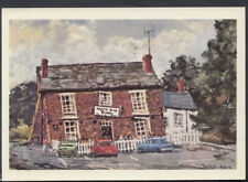 "Staffordshire Postcard - Glynne Arms ""Crooked House"", Dudley  RR3605"