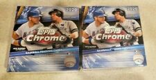 2020 TOPPS Chrome Baseball Card Mega Box Sealed LOT x 2