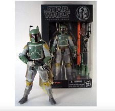 FIGURA BOBA FETT #06 STAR WARS The Black Series en CAJA  18cm