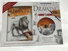 Simply Drawing Book & DVD For Artist