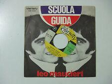 """Leo Maucieri – Scuola Guida - Disco Vinile 45 Giri 7"""" Stampa ITALIA 1968"""