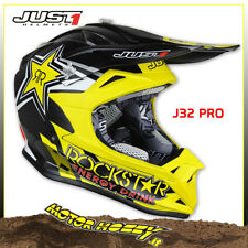 CASCO CROSS ENDURO MOTARD JUST1 J32 PRO ROCKSTAR ENERGY 2018 TAGLIA S (55-56)