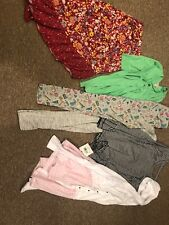 Girls Winter Spring 6 Pieces Legging Skirt Sz 10/12 Youth