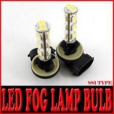 LED Fog Light Bulb 2pc 881 For 08 10 Hyundai i30 i30cw