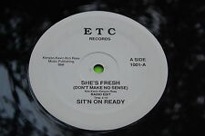 """12"""" Hear Rare Private Electro Boogie Funk : Sit'n On Ready ~ She's Fresh ~ ETC"""