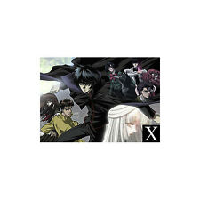 X/1999 Clamp Plastic Clear Poster Anime Mint 00004000