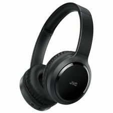 JVC BLUETOOTH WIRELESS OVER EAR HEADPHONES WITH NOISE CANCELLING BLACK HAS80BNBE