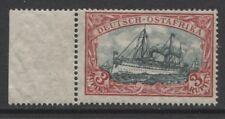 1908 German colonies East Africa 3 Rupien Yacht issue, mint**, $ 645.00