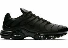 Nike Air Max Plus AJ2029-001 Triple Negro Hombre Zapatos Deportivos Ropa Deportiva! nuevo!