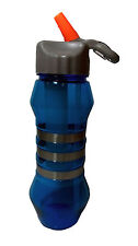 SIPPER ICE WATER BOTTLE-CURVE- BLUE