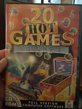 20 Hot Games Volume 1 - PC GAME- FREE POST *